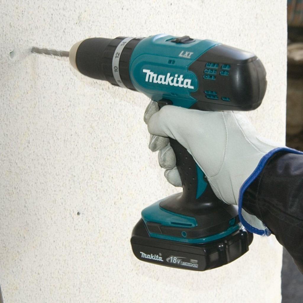 Makita BHP453RHJ im Einsatz
